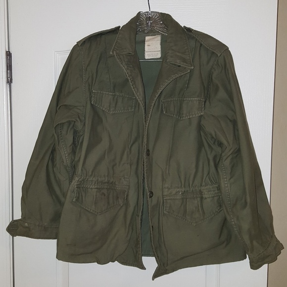 Vintage Military Jacket